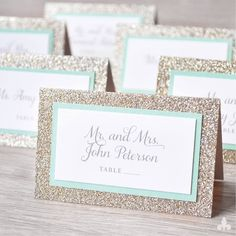 Related Post Unique Place Card Ideas Holder Christmas Wedding Name Cards Lovely Best Amp Seating Charts Images On Wedding Table Names, Wedding Place Cards, Diy Wedding, Wedding Disney, Trendy Wedding, Wedding Flowers, Wedding Ideas, Sparkle Game, Glitter Wedding Invitations