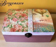 decoupage box hand made