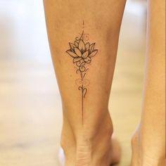 Flower Tattoos for Women - 85 Rose Tattoos for Women - Pretty Tattoos, Cute Tattoos, Leg Tattoos, Beautiful Tattoos, Body Art Tattoos, Tatoos, Tattoo Neck, Tattoo On Leg, Tiny Tattoo