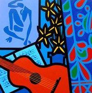 Still Life With Matisse 2  Fine Art Print