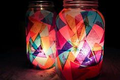 Colorful Lanterns | 16 DIY Christmas Lanterns Ideas To Brighten Up Your Home