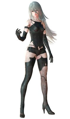 A2 Render from NieR:Automata