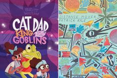 Koyama Announces New Comics And Kids Material For 2014 Comic News, Cat Dad, Goblin, Lineup, Dads, French, Comics, Books, Libros