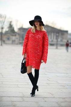 Ways to Wear Lace Like a Street Style Star | StyleCaster