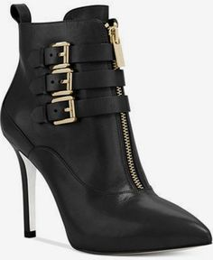 MICHAEL Michael Kors Brena Zip Up Booties and other apparel, accessories and trends. High Heel Boots, Ankle Boots, Bootie Boots, Shoe Boots, High Heels, Bootie Heels, Boot Socks, Michael Kors Stiefel, Michael Kors Boots