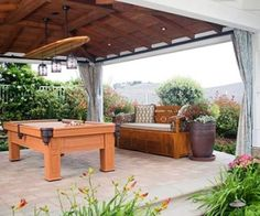 outdoor game room