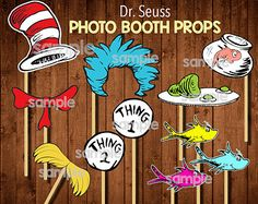 Dr. Seuss by MissPinkDahlia on Etsy