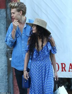 Vanessa Hudgens and Austin Butler indulge in champagne, shopping and yacht rides during romantic Italian getaway   Daily Mail Online