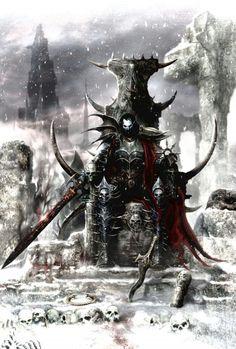 Malus Darkblade, par (auteur inconnu), in (source inconnue) Warhammer Dark Elves, Warhammer Art, Warhammer Fantasy, Dark Fantasy Art, Fantasy Artwork, Tolkien, Vampire Counts, Dark Warrior, Dark Eldar