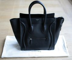 Celine Luggage Mini Shopper