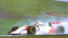 Ayrton Senna, Donington Park, 1993, Gran Premio de Europa