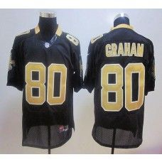 2920f0684f7 Nike Saints  80 Jimmy Graham Black Stitched NFL Jersey New Orleans Saints  Jersey