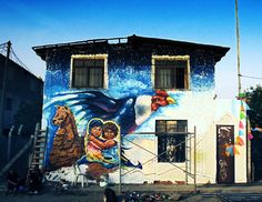 Changing the neighborhood with full colors Transformando el comedor popular del barrio Musa - la Molina (Ft. @Phoenix / @Amaru) en@Fiteca 2017  #WIP #Art #identidad #naturaleza #Parcha #convivir #llama #face #inca #condor #Disciplina #Perú #bestartpage #illustratedmonthly #artfido #artistsdrop #artistsoninstagram #murals #urbanart #artist_unity_ #artist_discover #artist_showcase #Pinterest #Jech