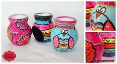 Hornitos aromáticos con diseños infantiles