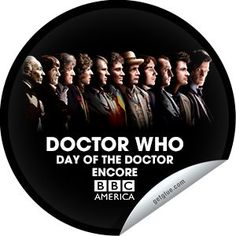 getglue stickers dr who 50th anniversary day of the doctor   ... Who 50th Anniversary: The Day of the Doctor Encore Sticker   GetGlue