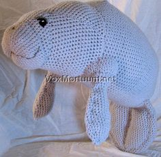 Amigurumi Manatee Pattern : Manatee crafts on Pinterest Pillow Pets, Tee Shirts and ...
