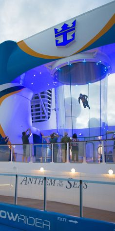 RipCord by iFly | Indoor skydiving meets the high seas as you float above the stern of your favorite Quantum Class ships.