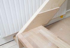 Sådan bygger du nemt en gør-del-selv-trappe   idényt Dyi, Wood, Woodwind Instrument, Timber Wood, Trees, Home Decor Trees, Woods