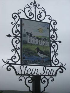 The wonderful Stein Inn, Skye