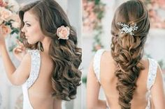 Image in make up and hair collection by Benilde Daniela Party Hairstyles, Formal Hairstyles, Hairstyles With Bangs, Girl Hairstyles, Wedding Hairstyles, Hairstyle Ideas, Wedding Hair And Makeup, Hair Makeup, About Hair