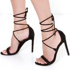 Steve Madden Leg Wrap Heels