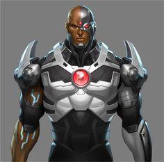 cyborg | Cyborg DLC Skin Revealed For 'Injustice: Gods Among Us'