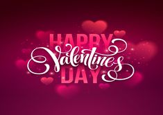 Illustration of Happy valentines day handwritten text on blurred background. vector art, clipart and stock vectors. Happy Valentines Day Wishes, Valentine Day Gifts, Valentine Stuff, Eid Mubarak Wishes, Handwritten Text, Teddy Day, Propose Day, Cancer Quotes, Valentine's Day Quotes