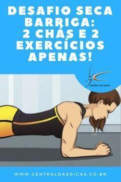 Este desafio seca barriga funciona mesmo e você só precisa fazer 2 coisas para emagrecer e perder a gordura abdominal.