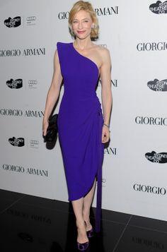 cate blanchett in armani prive Gypsy Fashion, Star Fashion, Girl Fashion, Female Fashion, Fashion Addict, Cate Blanchett, Power Dressing Women, Taurus, Armani Prive