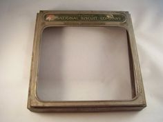 "Antique National Biscuit Company metal lid/cover - Pat. 1923 - ""Uneeda Bakers"" by Shafada"
