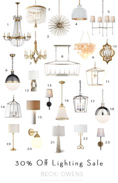 Great Collection of Lighting .....