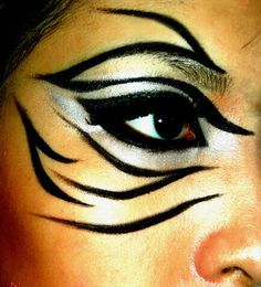Cool makeup - animal style
