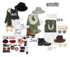 """""""Outfit"""" by geecat on Polyvore featuring Forever 21, H&M, Topshop, Keds, Gottex, Blanc & Eclare, Janessa Leone, Eugenia Kim, Kate Spade and Blue Nile"""
