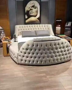 Luxury Bedroom Design, Room Design Bedroom, Bedroom Furniture Design, Home Room Design, Interior Design, Bed Headboard Design, Sofa Bed Design, Gold Bedroom Decor, Master Bedroom Interior