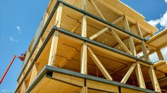 The Design Building's mass-timber structure will serve as a teaching tool for the campus and greater AEC communities.