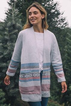 Vancouver Blanket Jacket - Whytecliff Beacon
