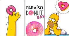 1.El paraíso de Homer Simpson para tu fiesta ¿Aún no conoces las donut bar?