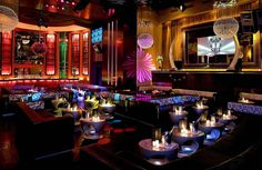 The Set, one of South Beach's hottest clubs (Miami Beach, Florida)