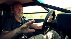 Valentino Balboni drives the Countach LP400 long version by Kidston.TV