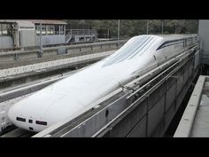 The fastest train in the world - Speed 603 km/h Japanese Maglev Train