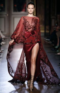 Is this for my Artsy side?  Zuhair Murad Haute Couture F/W 2011-12