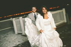 winter wedding, dress kendra by maggie sottero