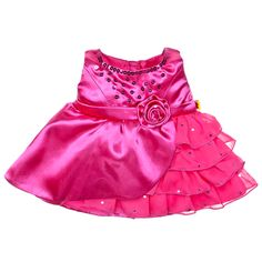 Grandma is getting all the Build-A-Bear clothes :) Fuchsia Sequin Dress - Build-A-Bear Workshop US