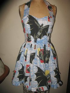 Custom made to order DC Comic Batman Ruffled by SweetHeartClothing, $135.00