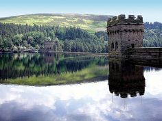Lady Bower dam in the Peak District