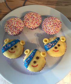 Children in need cakes sent to school with my son to raise money for charity.
