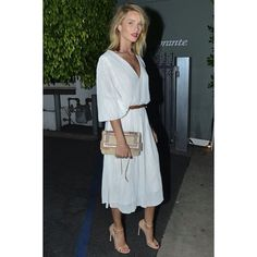 @rosiehw hits the town Hollywood-style in the NUDIST. Pinned from Stuart Weitzman