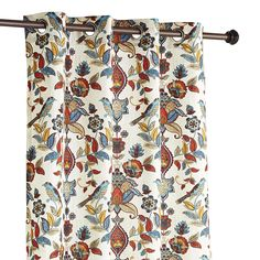 Multi-colored Marisela Curtain - Polyester - Outdoor