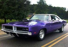 Plum Crazy 69 Dodge Charger