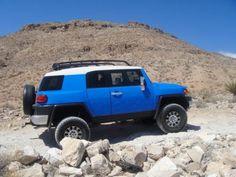 Toyota FJ Cruiser in Voodoo Blue (2JV) from 2007-2009 #7